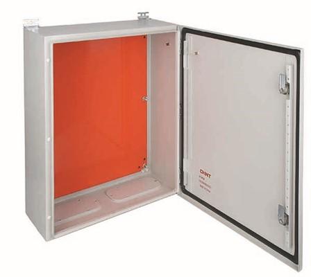Armario met lico 600x500 con placa de montaje chint nxw5 for Armario metalico exterior